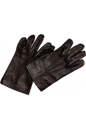 Loewe \N Leather Gloves for Women