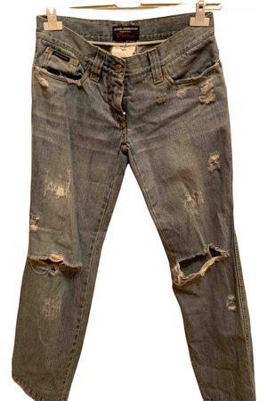 Dolce & Gabbana \N Cotton Jeans for Men