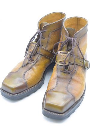 Berluti \N Leather Boots for Men