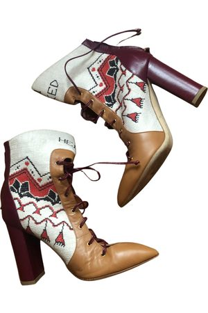 MALONE SOULIERS Leather lace up boots