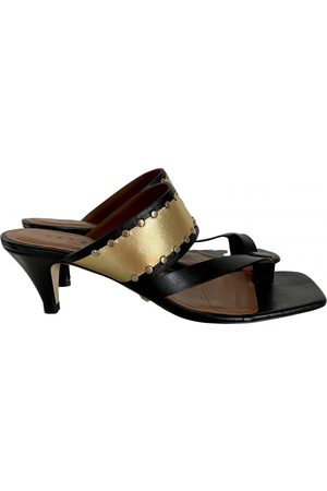 Sandro Spring Summer 2020 Leather Sandals for Women