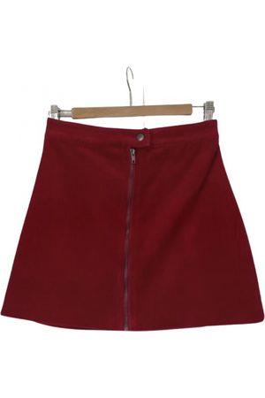 Monoprix \N Velvet Skirt for Women