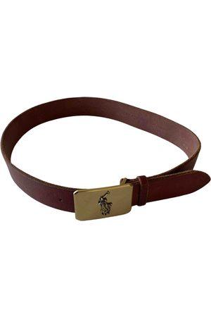 Polo Ralph Lauren \N Leather Belt for Men