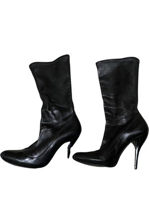 Alexander McQueen VINTAGE \N Leather Ankle boots for Women