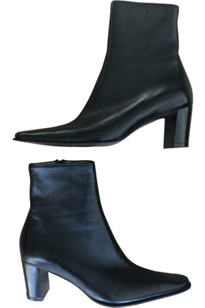 Robert Clergerie \N Leather Ankle boots for Women