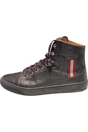 Bally \N Leather Trainers for Men