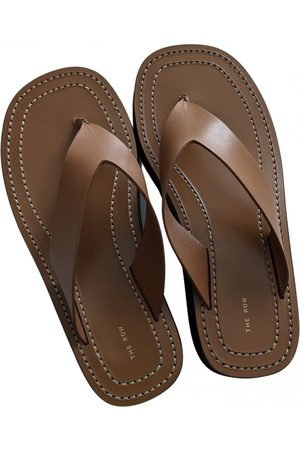 The Row Ginza Leather Sandals for Women