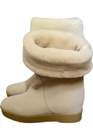 Salvatore Ferragamo \N Suede Ankle boots for Women
