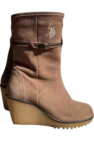Ralph Lauren \N Suede Ankle boots for Women