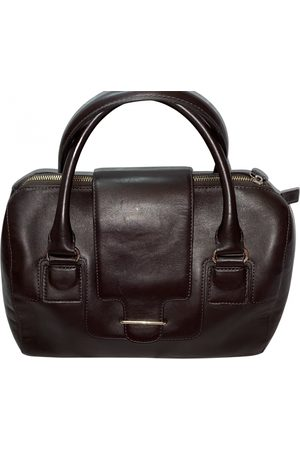 Tila March Leather bowling bag
