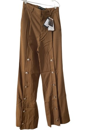 Y / PROJECT \N Wool Trousers for Men
