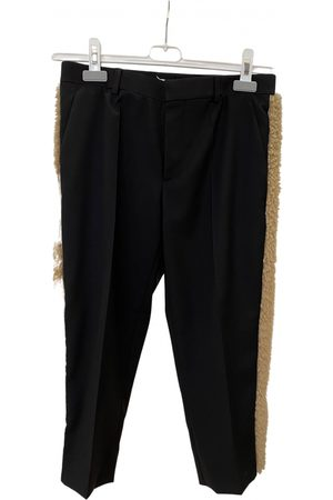Maison Martin Margiela \N Wool Trousers for Women