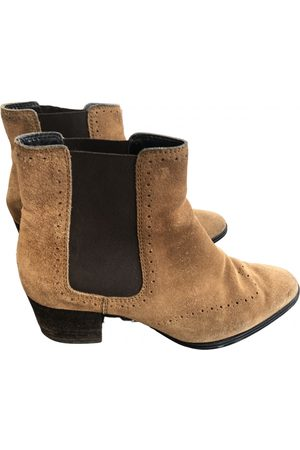 Tod's \N Suede Ankle boots for Women