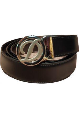 S.T. Dupont \N Leather Belt for Men