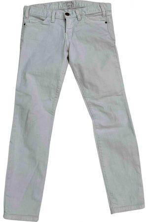 Current/Elliott \N Cotton - elasthane Jeans for Women