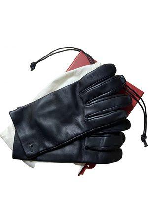 LANCEL \N Leather Gloves for Women