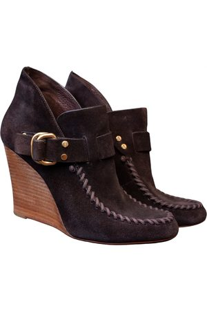 Tory Burch Women Ankle Boots - \N Suede Ankle boots for Women