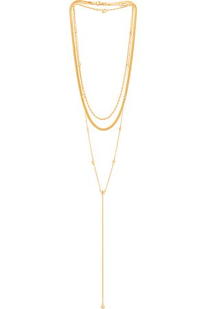 Jordan Road Jewelry St. Lucia Necklace Stack in Metallic