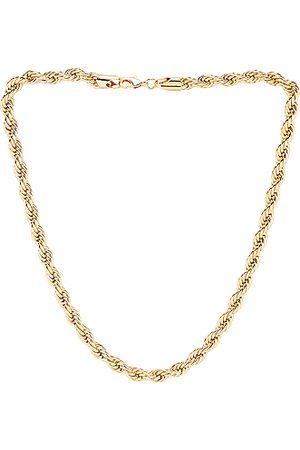 Jordan Road Jewelry Celine Thick Necklace in Metallic
