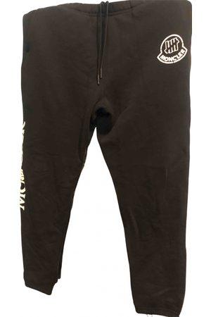Moncler Men Pants - \N Cotton Trousers for Men