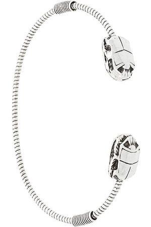 Gas Bijoux Duality large Scaramouche Twist bracelet - Metallic