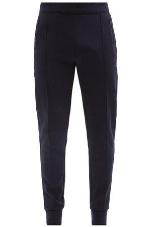 Falke Slim-leg Jersey Track Pants - Mens - Navy