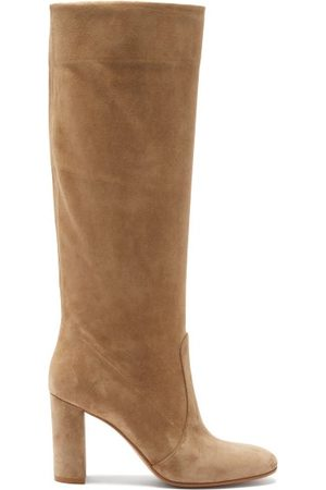 Gianvito Rossi Knee-high 85 Suede Boots - Womens
