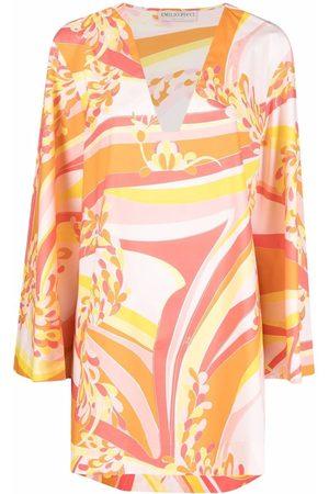 Emilio Pucci Graphic-print tunic dress