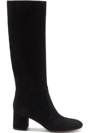 Gianvito Rossi Women Thigh High Boots - Knee-high 45 Suede Boots - Womens