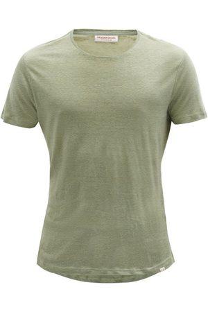 Orlebar Brown Ob-t Linen-jersey T-shirt - Mens