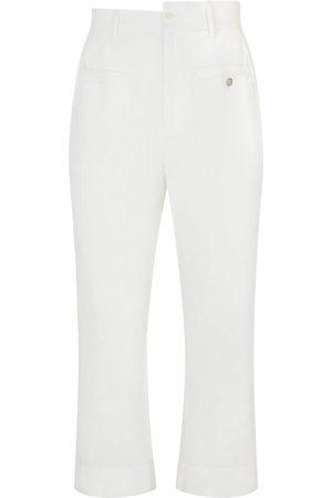 Dolce & Gabbana Asymmetric waistband trousers