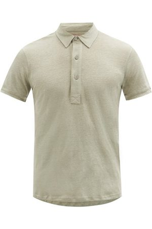 Orlebar Brown Sebastian Slubbed-jersey Polo Shirt - Mens