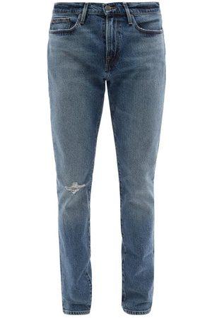 Frame L'homme Skinny-leg Jeans - Mens - Indigo