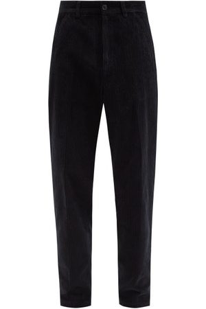 OUR LEGACY High-rise Cotton-corduroy Straight-leg Trousers - Mens