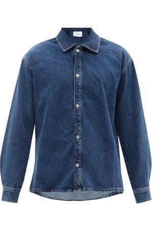 Frame Long-sleeved Denim Shirt - Mens