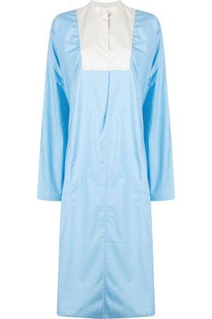 SOFIE D'HOORE Women Casual Dresses - Contrasting panel midi shirt-dress