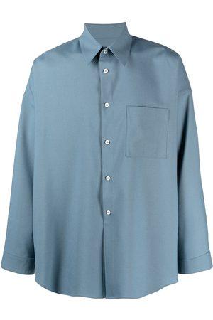 Marni Long-sleeve wool shirt