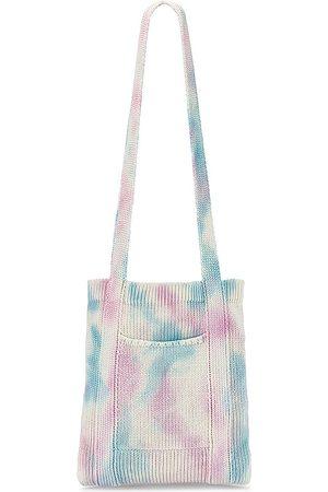 LOVESHACKFANCY Foucault Cross Body Bag in Pink.
