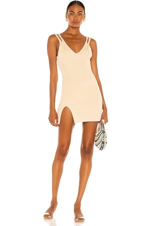 Camila Coelho Women Bodycon Dresses - Yara Dress in Nude.