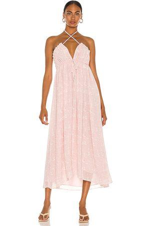 Tularosa Lee Maxi Dress in Mauve.