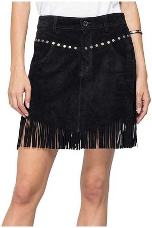 Replay Women Leather Skirts - W9275 Skirt S