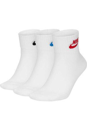 Nike Men Socks - Sportswear Everyday Essential Ankle EU 34-38 Multicolor