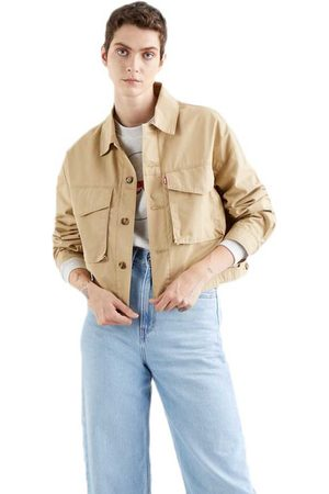 Levi's Women Jackets - Loose Utility Trucker M Soft Structure In