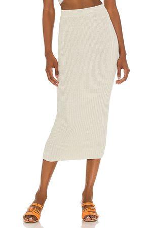 Camila Coelho Joss Skirt in Mint.