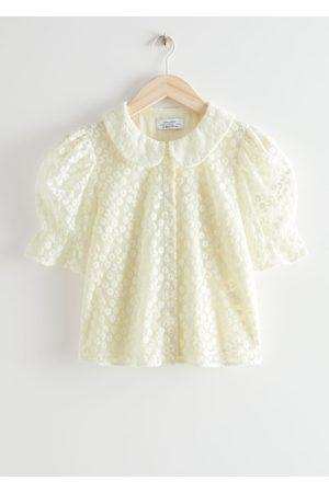 & OTHER STORIES Floral Lace Blouse