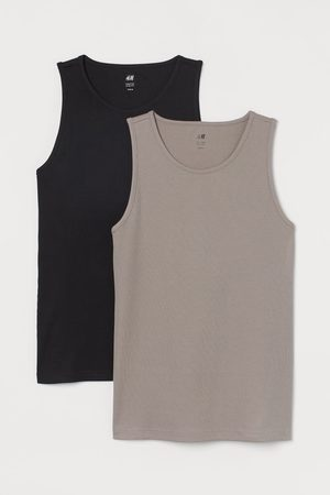 H&M 2-pack Slim Fit Tank Tops