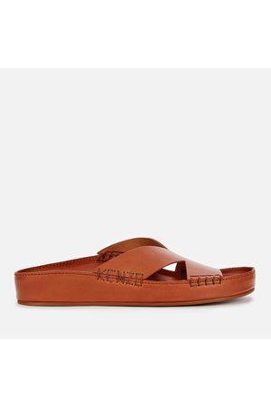 Kenzo Men Mules - Men's Opanka Leather Mule Sandals