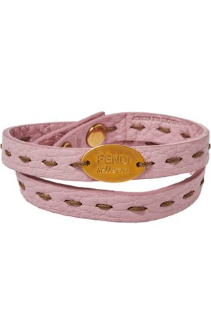 Fendi Selleria Double Wrap Bracelet