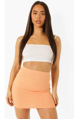 Boohoo Womens Rib Mini Skirt - - 2