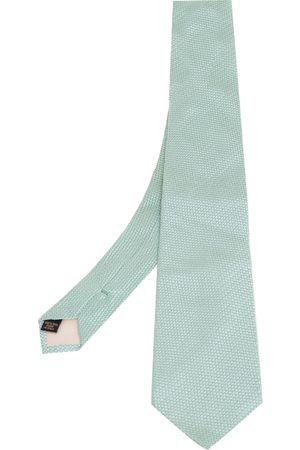 VALENTINO Textured Pattern Silk Tie